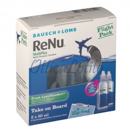ReNu Multiplus Fresh Lens Comfort Flight Pack 2X60 ml