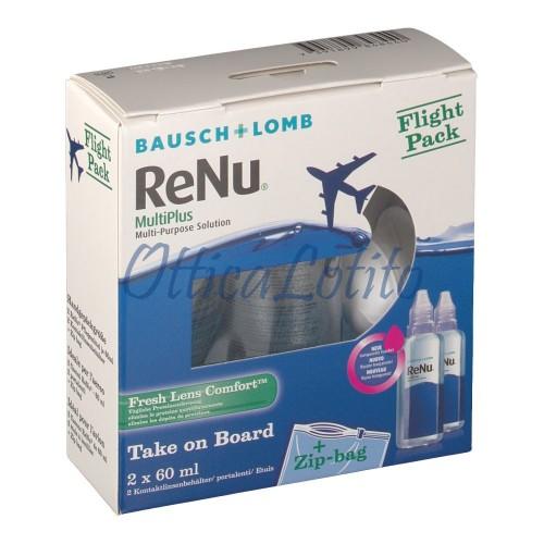 ReNu Multiplus Fresh Lens Comfort Flight Pack 2X60 ml