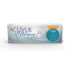 1 Day Acuvue Oasys With Hydraluxe For Astigmatism