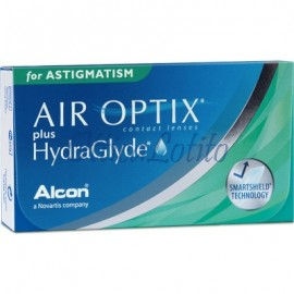 Air Optix Plus HydraGlyde For Astigmatism (3 Lenti)